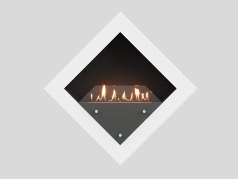 Биокамин Lux Fire Диамант 2 XS белый