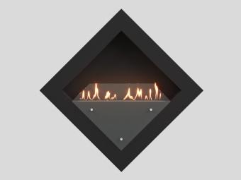 Биокамин Lux Fire Диамант 3 XS чёрный