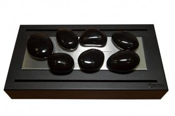 Керамические камни черные (7шт.)