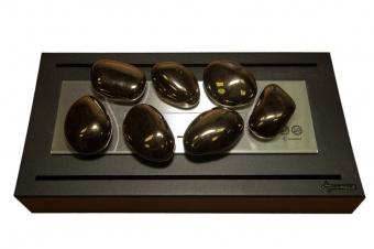 Керамические камни золото (7шт.)