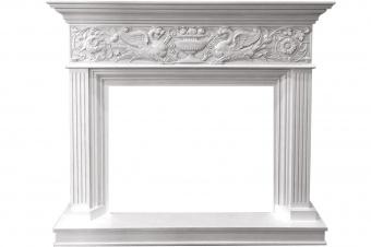 Портал Royal Flame Palace белый с серебром