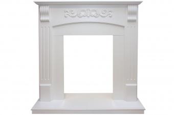 Портал Royal Flame Sorrento белый под классические очаги