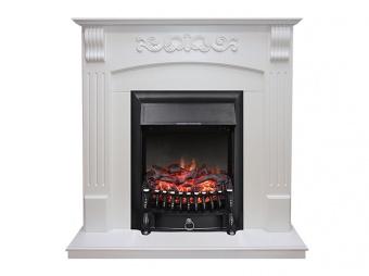 Электрокамин Royal Flame Sorrento белый с очагом Fobos FX Black