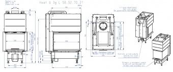 Топка Romotop Heat Silent U 3G L 50.52.70.21