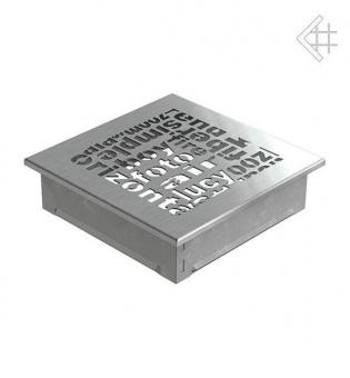 Вентиляционная решетка Kratki 17/17 ABC стальная