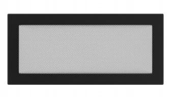 Вентиляционная решетка Kratki 17/37 Стандарт черная