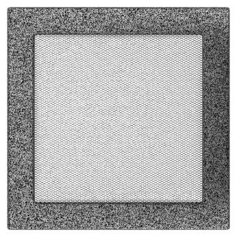 Вентиляционная решетка Kratki 22/22 Стандарт черный хром