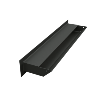 Вентиляционная решетка Kratki Люфт 6х40 черная, 45S