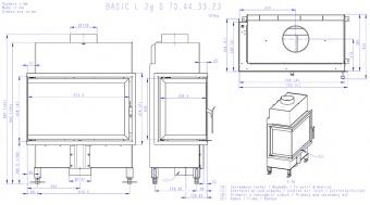 Топка Romotop Basic L 2G S 70.44.33.23