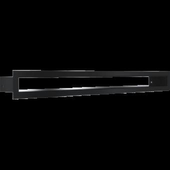 Вентиляционная решетка Kratki 6/60 Туннель черная