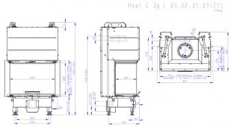 Топка Romotop Heat Silent C 3G L 65.52.31.21