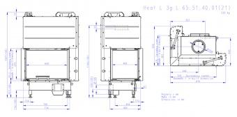 Топка Romotop Heat Silent L 3G L 65.51.40.01