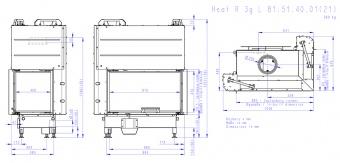 Топка Romotop Heat Silent R 3G L 81.51.40.21