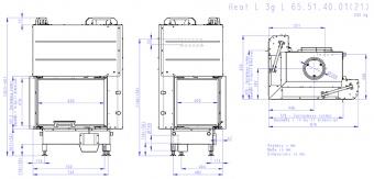 Топка Romotop Heat Silent L 3G L 65.51.40.21