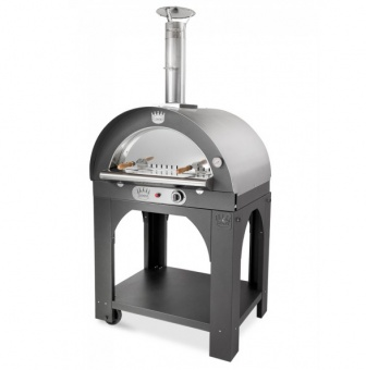 Печь Clementi Maxi Pulcinella 100 inox 304 на газу