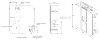 Печь Clementi Spring 18 кВт