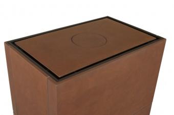 Печь-камин Hein Solid L Akum керамика