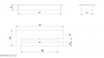 Контейнер прямоугольный Kratki GRAND, TUV (AF/PD/TUV)