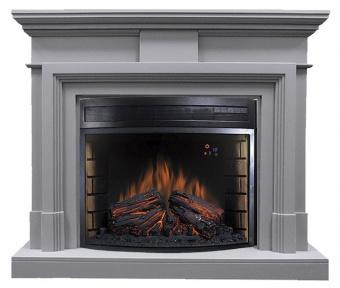 Электрокамин Royal Flame Coventry Grey с очагом Dioramic 28 LED FX