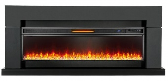 Электрокамин Royal Flame Lindos Graphite Grey с очагом Vision 60 LED