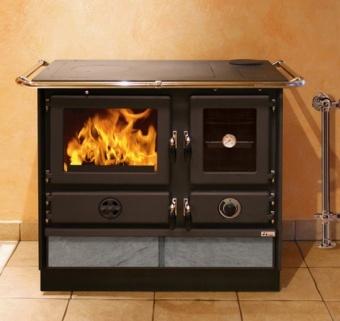 Кухонная плита MBS Super Thermo Magnum 4D D S с т/о (с камнем, правая)