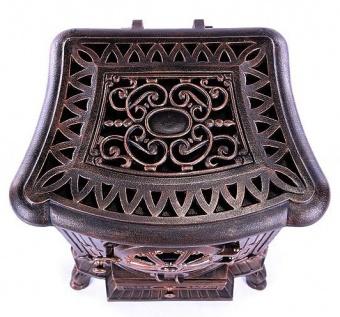 Печь EcoStove Ambra Bronze