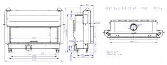 Топка Romotop Heat Silent 3G L 140.50.01