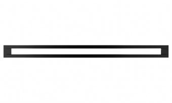 Вентиляционная решетка Kratki 6/80 Туннель черная