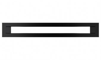 Вентиляционная решетка Kratki 6/40 Туннель черная