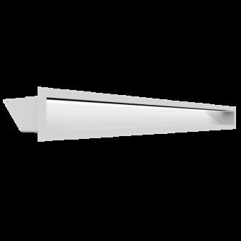 Вентиляционная решетка Kratki Люфт 9х100 белая, 45S
