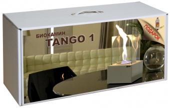 Набор с биокамином Kratki TANGO 1 белый
