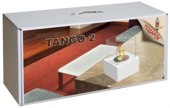 Набор с биокамином Kratki TANGO 2 белый