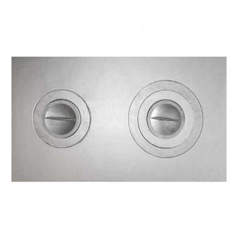 Плита двухконфорочная П2-3 (Б) 710х410