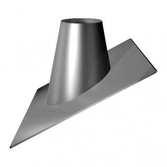 Кровельный элемент 33°/45° (сталь 0,5 мм, диаметр 200 мм, зеркальная) KRvXX45