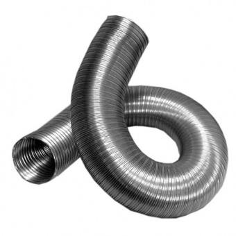 Гофрированная труба, диаметр 125 мм.