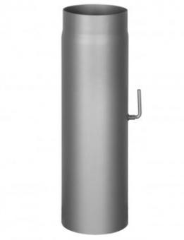 Труба с заслонкой L- 500 mm, d-150 mm.