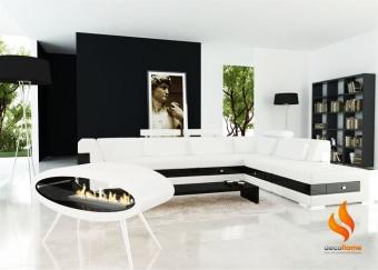 Ellipse Floor White